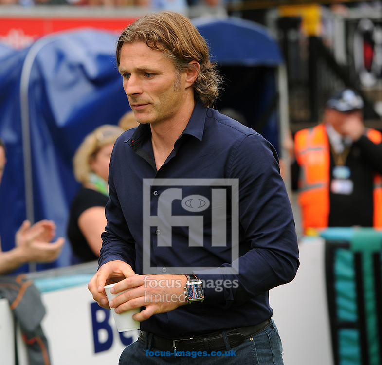 Gareth Ainsworth of Wycombe Wanderers during the Sky Bet League 2 match at Adams Park, High Wycombe<br /> Picture by Seb Daly/Focus Images Ltd +447738 614630<br /> 06/09/2014