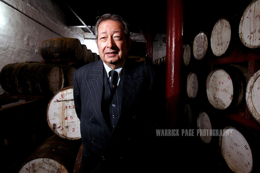 RAWALPINDI, PAKISTAN - FEBRUARY 14: Murree Brewery CEO, Minoo Bhandara, stands amongst whiskey barrels, , February 14, 2007, Rawalpindi, Pakistan. The brewery boasts the first 20 year-old malt whiskey in the Muslim world, due for release in mid-2007. Established more than a century ago under British Raj, Murree Brewery also is Pakistan's oldest company and one of two breweries in a country under prohibition. Muslims have been banned from drinking alcohol since it was outlawed in 1977, but Christians and Hindus may still buy alcohol. The brewery hopes to export the exclusive whiskey to Europe and the Middle East. (Photo by Warrick Page)