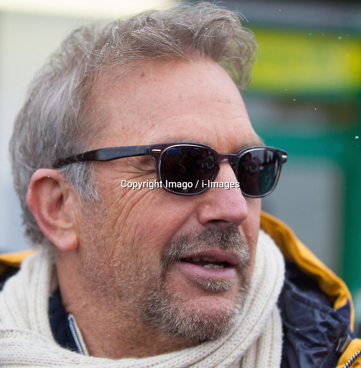 Hollywood star Kevin Costner during the FIS Ski World Championships,   Schladming, Styria, Austria, February 9, 2013. Photo by Imago / i-Images...UK ONLY