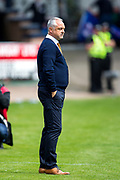 Dundee United manager Ray McKinnon during the Betfred Scottish Cup group stage match between Dundee and Dundee United at Dens Park, Dundee, Scotland on 29 July 2017. Photo by Craig Doyle.