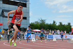 05/08/2017; Orrego Campos, Mauricio Esteban, T46, CHI at 2017 World Para Athletics Junior Championships, Nottwil, Switzerland