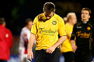 Onderwerp/Subject: Roda JC - Eredivisie<br /> Reklame:  <br /> Club/Team/Country: <br /> Seizoen/Season: 2012/2013<br /> FOTO/PHOTO: Mikolaj LEBEDYNSKI of Roda JC dejected after the match. (Photo by PICS UNITED)<br /> <br /> Trefwoorden/Keywords: <br /> #03 $94 &plusmn;1355242121502<br /> Photo- &amp; Copyrights &copy; PICS UNITED <br /> P.O. Box 7164 - 5605 BE  EINDHOVEN (THE NETHERLANDS) <br /> Phone +31 (0)40 296 28 00 <br /> Fax +31 (0) 40 248 47 43 <br /> http://www.pics-united.com <br /> e-mail : sales@pics-united.com (If you would like to raise any issues regarding any aspects of products / service of PICS UNITED) or <br /> e-mail : sales@pics-united.com   <br /> <br /> ATTENTIE: <br /> Publicatie ook bij aanbieding door derden is slechts toegestaan na verkregen toestemming van Pics United. <br /> VOLLEDIGE NAAMSVERMELDING IS VERPLICHT! (&copy; PICS UNITED/Naam Fotograaf, zie veld 4 van de bestandsinfo 'credits') <br /> ATTENTION:  <br /> &copy; Pics United. Reproduction/publication of this photo by any parties is only permitted after authorisation is sought and obtained from  PICS UNITED- THE NETHERLANDS