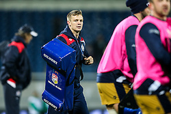 Bristol Rugby Backs Coach Dwayne Peel in action during the warm up - Rogan Thomson/JMP - 16/12/2016 - RUGBY UNION - Stade du Hameau - Pau, France - Pau v Bristol Rugby - EPCR Challenge Cup.