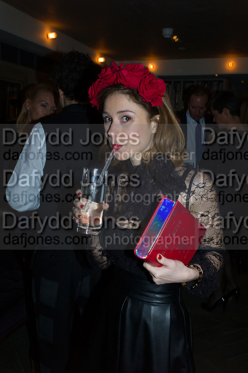 MARIA MARIGLIAMO CARACCIOLO, Spectator Life - 3rd birthday party. Belgraves Hotel, 20 Chesham Place, London, SW1X 8HQ, 31 March 2015