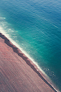 Aerial view of a beach near Etretat, Normandie / France<br /> Prints: http://bit.ly/2DFwoEZ