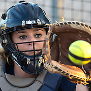 November 3, 2016; Cal State Fullerton vs Alan Hancock College Softball at Cal State Fullerton, Fullerton, CA.<br /> © photo by Catharyn Hayne/Sport Shooter Academy