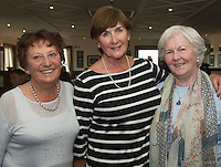 23/08/2015 REPRO FREE  Delta Doyle, Bearna,  Bryde Glynn, Taylor&rsquo;s Hill and Ann Hanratty Dublin  at Connemara Golf Club in Ballyconneely Co Galway  where Ryan Tubridy received honorary Life Membership from the Club .<br /> Photo:Andrew Downes, xposure.