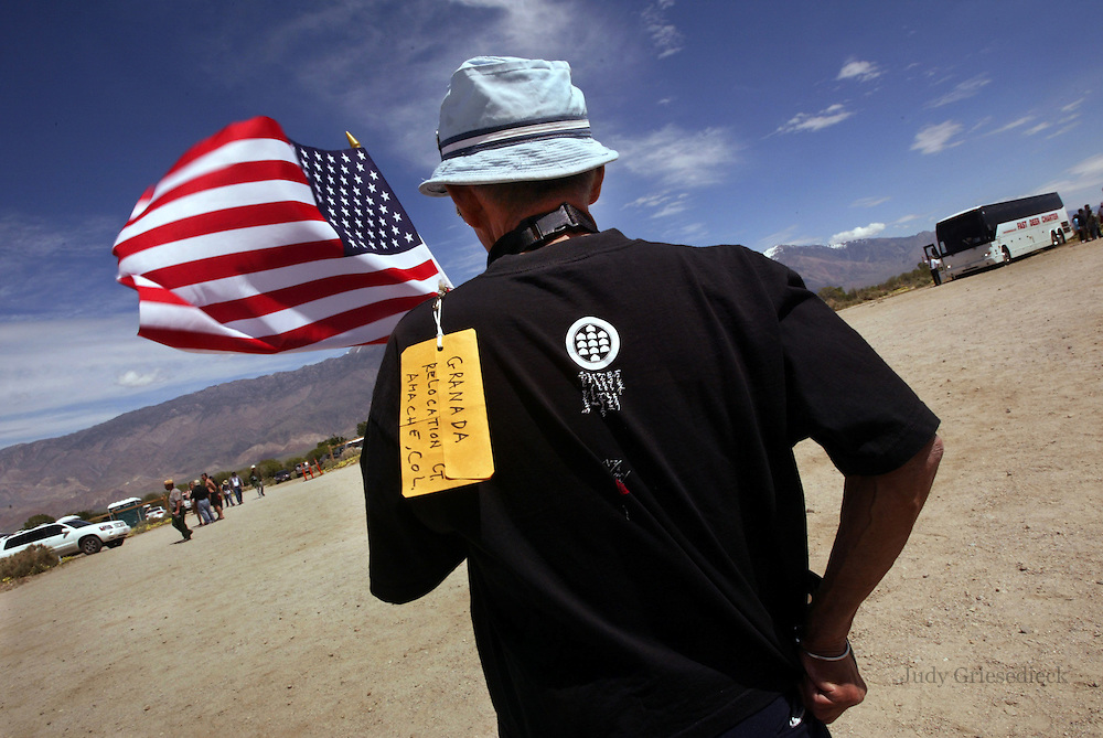 During the annual pilgrimage to Manzanar, CA, one of ten camps where Japanese-Americans were relocated during World War II, a man who was sent to the camp as a child reaffirms his love of The United States while re-visiting the former camp.