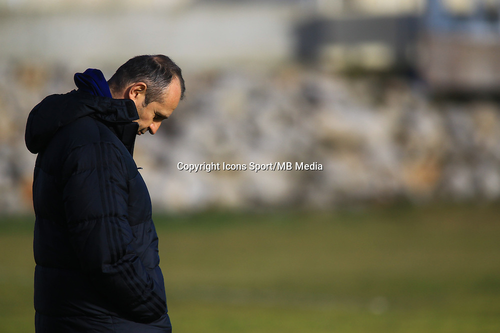 Philippe Saint Andre - 27.01.2015 - Entrainement Equipe de France - Canet en Roussillon -<br /> Photo : Nicolas Guyonnet / Icon Sport