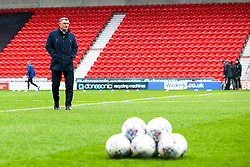 Blackburn Rovers manager Tony Mowbray arrives at Doncaster Rovers - Mandatory by-line: Robbie Stephenson/JMP - 24/04/2018 - FOOTBALL - The Keepmoat Stadium - Doncaster, England - Doncaster Rovers v Blackburn Rovers - Sky Bet League One