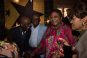 THE FIRST LADY OF GHANA, Ghana party, Venice, 8 May 2019