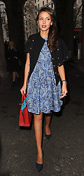 Michelle Keegan attends the Jean-Pierre Braganza show during London Fashion Week Fall/Winter 2015/16 at Somerset House in London, UK. 20/02/2015<br /> BYLINE MUST READ : GOTCHAIMAGES.COM<br /> <br /> Copyright by © Gotcha Images Ltd. All rights reserved.<br /> Usage of this image is conditional upon the acceptance <br /> of Gotcha Images Ltd, terms and conditions available at<br /> www.gotchaimages.com