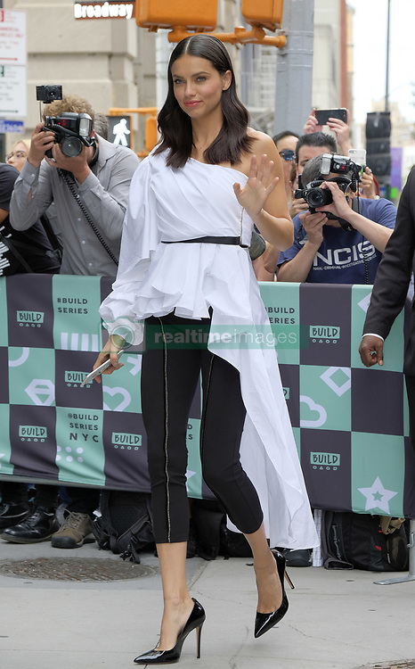 September 20, 2017 - New York, New York, United States - Victoria's Secret model Adriana Lima made an appearance at Build Series on September 20 2017 in New York City  (Credit Image: © Curtis Means/Ace Pictures via ZUMA Press)
