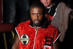 September 3, 2011; Biloxi, MS; Andre Berto and Jan Zaveck during their bout on HBO's Boxing after Dark.  Berto won via 5th round stoppage.  Photo: Ed Mulholland/HBO
