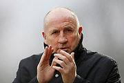 Accrington Stanley Manager John Coleman during the EFL Sky Bet League 1 match between Accrington Stanley and Bristol Rovers at the Fraser Eagle Stadium, Accrington, England on 12 January 2019.