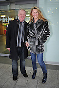 07.FEB.2012. LIVERPOOL<br /> <br /> CLAIRE SWEENEY AND LES DENNIS SPOTTED OUT IN LIVERPOOL.<br /> <br /> BYLINE: EDBIMAGEARCHIVE.CO.UK<br /> <br /> *THIS IMAGE IS STRICTLY FOR UK NEWSPAPERS AND MAGAZINES ONLY*<br /> *FOR WORLD WIDE SALES AND WEB USE PLEASE CONTACT EDBIMAGEARCHIVE - 0208 954 5968*