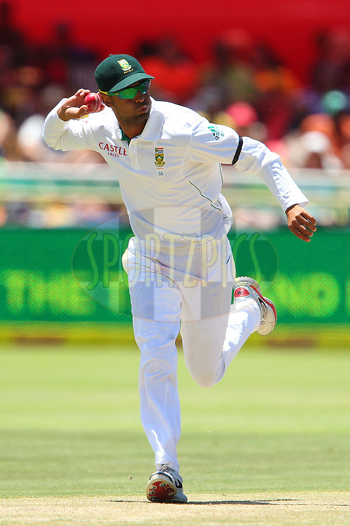Jacques Rudolf during the 3rd day of the 1st Sunfoil Test match between South Africa and New Zealand held at Newlands Stadium in Cape Town, South Africa on the 4th January 2013..Photo by Ron Gaunt/SPORTZPICS .