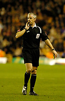 Photo: Leigh Quinnell.<br /> Wolverhampton Wanderers v Leeds United. Coca Cola Championship. 17/12/2005. Referee C. Foy.