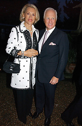 WINSTON & LUCE CHURCHILL at the annual Chelsea Flower Show dinner hosted by jewellers Cartier at the Chelsea Pysic Garden, London on 22nd May 2006.<br />