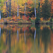 """Lake Plumbago in Reflection""<br />