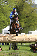 Andrew James riding Hold Me Down during the International Horse Trials at Chatsworth, Bakewell, United Kingdom on 13 May 2018. Picture by George Franks.