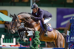 Bourdy Hubert-Toulon<br /> Spruce Meadows Masters Calgary 2005<br /> Copyright Hippo Foto