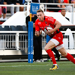 Chris Ashton of Toulon  during the pre-season match between Rc Toulon and Clermont Auvergne at Felix Mayol Stadium on August 11, 2017 in Toulon, France. (Photo by Guillaume Ruoppolo/Icon Sport)