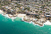 Aerial Stock Photo of Laguna Beach California