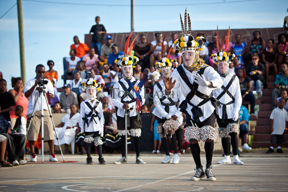 Scenes from the first Garifuna Jankunu Festival in Dangriga, Belize