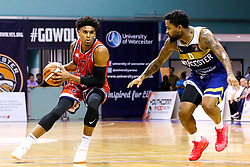 Justin Gray of Bristol Flyers - Mandatory by-line: Robbie Stephenson/JMP - 05/10/2018 - BASKETBALL - University of Worcester Arena - Worcester, England - Bristol Flyers v Worcester Wolves - British Basketball League