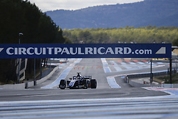 March 6, 2018 - Le Castellet, France - SERGIO SETTE CAMARA of Brazil and Carlin drives during the 2018 Formula 2 pre season testing at Circuit Paul Ricard in Le Castellet, France. (Credit Image: © James Gasperotti via ZUMA Wire)