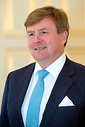 Koning Willem-Alexander en koningin Maxima ontvangen secretaris-generaal van de Verenigde Naties Antonio Guterres voor een diner op Paleis Noordeinde. Aanleiding voor het bezoek van Guterres is de sluitingsceremonie van het Joegoslavietribunaal van de Verenigde Naties (ICTY, The International Criminal Tribunal for the former Yugoslavia). <br /> <br /> King Willem-Alexander and Queen Maxima receive Secretary-General of the United Nations Antonio Guterres for a dinner at Noordeinde Palace. The reason for the visit of Guterres is the closing ceremony of the Yugoslavia Tribunal of the United Nations (ICTY, The International Criminal Tribunal for the former Yugoslavia).<br /> <br /> Op de foto / On the photo:  Koning Willem-Alexander / King Willem-Alexander