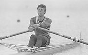 Nottingham. United Kingdom. <br /> Alan WHITWELL. <br /> Nottingham International Regatta, National Water Sport Centre, Holme Pierrepont. England<br /> <br /> 31.05.1986 to 01.06.1986<br /> <br /> [Mandatory Credit: Peter SPURRIER/Intersport images] 1986 Nottingham International Regatta, Nottingham. UK