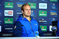 Nick ABENDANON - 01.05.2015 - Conference de presse Clermont avant la finale - European Rugby Champions Cup -Twickenham -Londres<br /> Photo : David Winter / Icon Sport