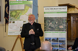 Pictured: Sir Tom Hunter<br /> Finance Secretary Derek Mackay headed to Winchburgh today to meet developers of new 3,450-home village. As well as the new homes, schools and other associated infrastructure will be built at Winchburgh. Derek Mackay met Sir Tom Hunter and Local MSP, Fiona Hyslop, the developers and West Lothian Council officials.<br /> Ger Harley | EEm 17 January 2019