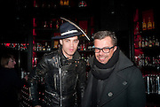 JORDAN BOWEN; SIMON HARRIS, The launch screening of ÔAnimal CharmÕ  and ÔSusie LovittÕ - W hotel leicester sq. London. 31 January 2012.<br /> JORDAN BOWEN; SIMON HARRIS, The launch screening of 'Animal Charm'  and 'Susie Lovitt' - W hotel leicester sq. London. 31 January 2012.