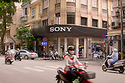 The Sony Store in the affluent downtown of District 1, central Saigon.