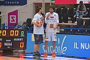 Pablo Andres Forray Ariel Filloy<br /> Dolomiti Energia Aquila Basket Trento - Umana Reyer Venezia<br /> Lega Basket Serie A 2016/2017<br /> PalaTrento 05/02/2017<br /> Foto Ciamillo-Castoria