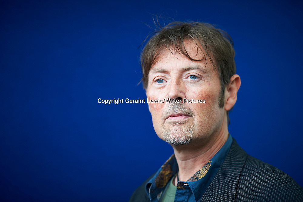DBC Pierre, writer and Man Booker Prize winning author  at The Edinburgh International Book  Festival 2013. 22nd August 2013<br /> <br /> Pic by Geraint Lewis/Writer Pictures