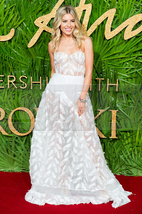 © Licensed to London News Pictures. 04/12/2017. London, UK. MOLLY KING arrives for The Fashion Awards 2017 held at the Royal Albert Hall. Photo credit: Ray Tang/LNP