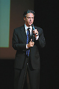 Comedian Jon Stewart performed at The Gerry Red Wilson Found. Comedy Benefit to raise awareness for Spiral Meningitis at the Town Hall in New York City on June 11, 2002 as part of the Toyota Comedy Series.<br /> photo by Jen Lombardo/PictureGroup