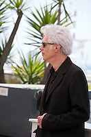 Director Jim Jarmusch at the Paterson film photo call at the 69th Cannes Film Festival Monday 16th May 2016, Cannes, France. Photography: Doreen Kennedy