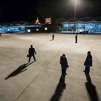 Like elsewhere in China, the bright lights of Datong Airport herald development. In 2007 there were 10 million Chinese without electricity, in 2015 the last two villages in remote Qinghai province were hooked up to the grid, completing China's rural electrification.