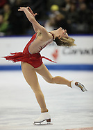 London, Ontario ---10-01-15--- Erin Scherrer competes in the women's short program at the 2010 BMO Canadian Figure Skating Championships in London, Ontario, January 15, 2010. .GEOFF ROBINS/Mundo Sport Images..
