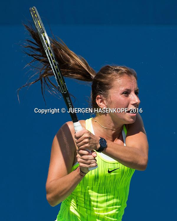 ANNIKA BECK (GER)<br /> <br /> Tennis - US Open 2016 - Grand Slam ITF / ATP / WTA -  USTA Billie Jean King National Tennis Center - New York - New York - USA  - 30 August 2016.