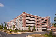 Photography of Commercial  Parking Garage in Shady Grove Maryland by Architectural Photographer Jeffrey Sauers of Commercial Photographics