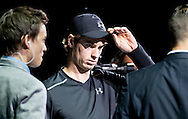 Andy Murray during the Tie Break Tens competition at the Erste Bank Open 500 at the Wiener Stadthalle, Vienna, Austria.<br /> Picture by EXPA Pictures/Focus Images Ltd 07814482222<br /> 23/10/2016<br /> *** UK & IRELAND ONLY ***<br /> <br /> EXPA-PUC-161024-0020.jpg