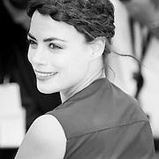 "Black & White Portrait ""Berenice Bejo""during the 66th Annual Cannes Film Festival"