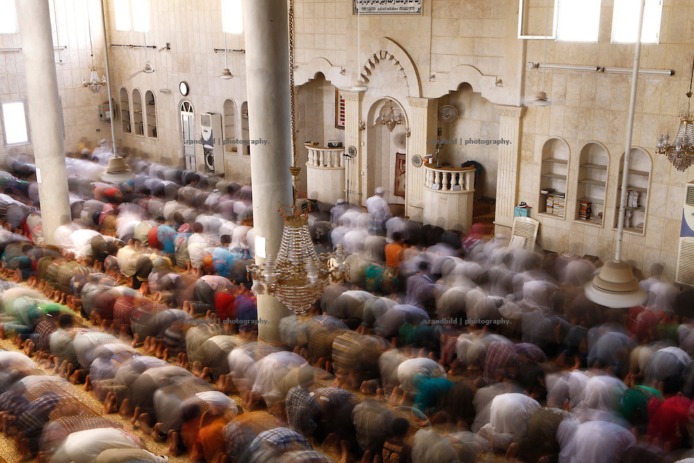 Friday prayer in the mosque of Koreen.<br />