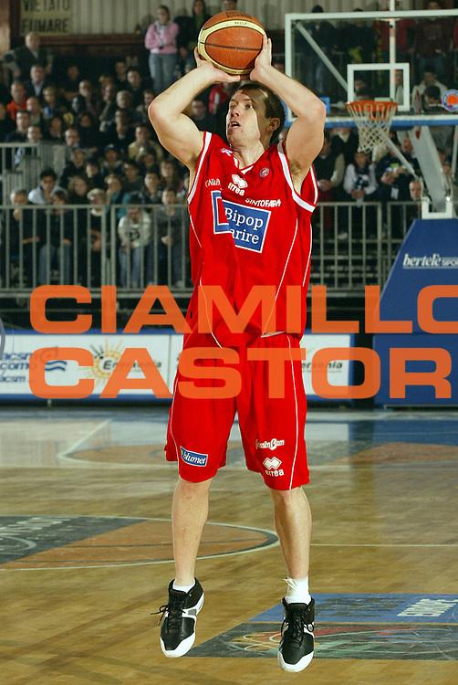 DESCRIZIONE : Cantu Lega A1 2005-06 Vertical Vision Cantu Bipop Reggio Emilia<br /> GIOCATORE : Blizzard<br /> SQUADRA : Bipop Reggio Emilia <br /> EVENTO : Campionato Lega A1 2005-2006<br /> GARA : Vertical Vision Cantu Bipop Reggio Emilia<br /> DATA : 08/01/2006<br /> CATEGORIA : Tiro<br /> SPORT : Pallacanestro<br /> AUTORE : Agenzia Ciamillo-Castoria/E.Pozzo